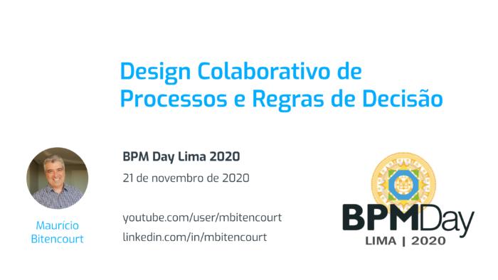 Design Colaborativo de Processos e Regras de Decisão